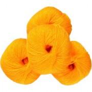 Soft Wool Yellow 400 Gm (8Pc)