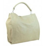 Velká taška na rameno New Berry 9010 žluto-béžová
