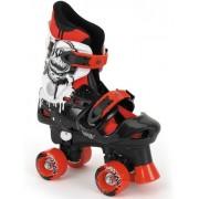 Osprey Jongens rolschaatsen verstelbaar zwart rood maat 36-38