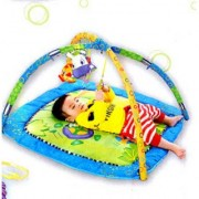 Toy Must Visit Born Baby Twist And Fold Fun Jungle Baby Activity Gym - Newborn Playmat