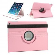 Apple iPad Mini 1, 2 en 3 Swivel Case, 360 graden draaibare Hoes, Cover met Multi-stand - Kleur roze