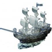 Crystal Puzzle 3d Piratenschip Zwart: 101-delig