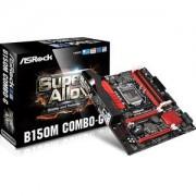 Carte mre ASRock B150M Combo-G Micro ATX Socket 1151 Intel B150 Express - SATA 6Gb/s - SATA Express - USB 3.0 - Combo DDR3/DDR4 - 2x PCI-Express 3.0 16x