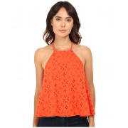 Free People Dream Date Tank Top Red