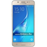 "Telefon Mobil Samsung Galaxy J5 (2016), Procesor Quad-Core 1.2GHz, Super AMOLED Capacitive touchscreen 5.2"", 2GB RAM, 16GB Flash, 13MP, Wi-Fi, 4G, Dual Sim, Android (Auriu) + Cartela SIM Orange PrePay, 6 euro credit, 4 GB internet 4G, 2,000 minute nationa"