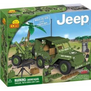 SET DE CONSTRUIT JEEP WILLYS M38 CU MORTIER - COBI (EP3X24180)