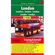 Londýn city plan centra 1:10 000()