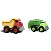 Maven Gifts: Green Toys Dump Truck With Green Toys Recycling Truck