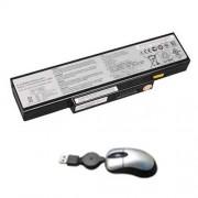 Amsahr K72-05 6 Cell 4400 mAh batteria di ricambio per Asus K72, A72D, A72DR, A72F, A72J, A72JK, A72JR