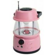 Hordozható Led lámpa kemping lámpa elemes FM Rádió - ST-1009