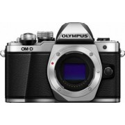 Aparat foto Mirrorless Olympus E-M10 Mark II Argintiu Kit EZ-M1415-2 Negru