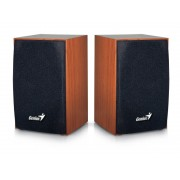"""BOXE 2.0 GENIUS """"SP-HF160"""", RMS: 2Wx2, cherry wood, USB power """"31731063101"""" (include timbru verde 0.01 lei)"""