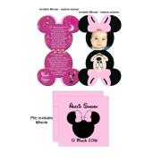 Invitatie Forma Minnie Mouse