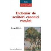 Dictionar de scriitori canonici romani - George Badarau