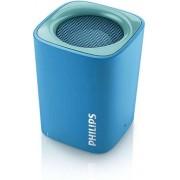 Boxa Portabila Philips BT100A/00, Bluetooth, Microfon, Handsfree (Albastru)