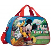 Geanta de Voiaj 40 cm Mickey si Pluto Friends