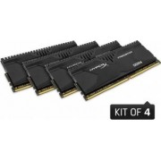 Memorie HyperX Predator Black 32GB Kit 4x8GB DDR4 2800MHz CL14