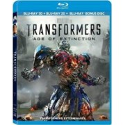 Transformers Age of Extinction BluRay Combo 3D+2D+Disc bonus 2014