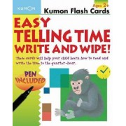 Easy Telling Time Write & Wipe by Kumon Publishing