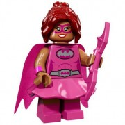 Mini Figurine Lego® Serie 17 - The Batman Movie : Pink Power Batgirl