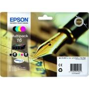 Epson T1626 eredeti festékpatron EXTRA nagy kapacitás WF2010W WF2510WF WF2520NF WF2530WF WF2540WF T1626 4010 Tintapatron Workforce WF2540WF nyomtatóhoz, EPSON fekete, 5,4ml