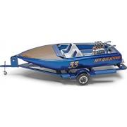 """Revell-Monogram, scala 1:25, kit per modellino barca """"Hot Rod Hydro"""", multicolore"""