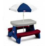 Little Tikes ® 437.984 niños Janny mesa con sombrilla