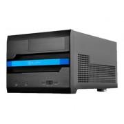 SilverStone SUGO SG12 - Modèle bureau - micro ATX - pas d'alimentation ( ATX / PS/2 ) - noir - USB/Audio