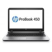 HP 450 i5-6200U 15.6 4GB/500 HSPAPC Core i5-6200U, 15.6 HD AG LED SVA, UMA, 4GB DDR3L RAM, 500GB HDD, DVD+/-RW, BT, HSPA WWAN,4C Battery, FPR, Win 10 PRO 64 DG Win 7 64, 1yr Warranty