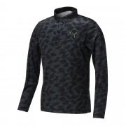 プーマ ゴルフ LSポロシャツ メンズ black
