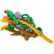 Fisher Price DGK89 - Trenino Thomas Take'n Play la Pista della Giungla di Thomas, Multicolore