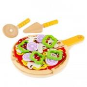 Jucarie eco din lemn Set de facut pizza Hape