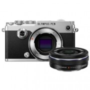 Olympus PEN-F EZ-M 14 42mm EZ Pancake Zoom Kit slv/blk - RS125024607