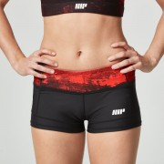 Myprotein Women's Power Shorts - Red Concrete - UK 8