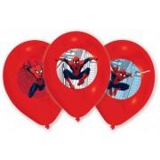 Pókember, Spiderman léggömb, lufi 6 db-os