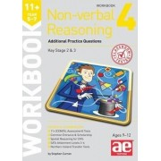 11+ Non-Verbal Reasoning Year 5-7 Workbook 4 by Stephen C. Curran