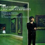 Seiji Ozawa,Chicago Symphony - Mussorsky,Britten (CD)