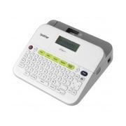 Brother Rotulador P-touch PT-D400, Transferencia Térmica, 180 x 180 DPI, Gris/Blanco