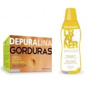 Pack Depuralina Gorduras + Depuralina Drainer