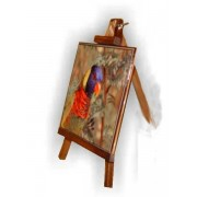 Caballete con Azulejo personalizado 15 x 15 cm oscuro