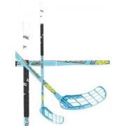 Salming Florbalová hůl Salming Quest1 FatKick KZ TC 3° `15 modrá / bílá / černá Levá ruka níže 100cm (=110cm)