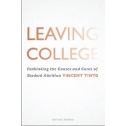 Leaving College by Vincent Tinto