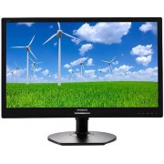 "Monitor IPS LED Philips 21.5"" 221S6QYMB, Full HD (1920 x 1080), VGA, DVI, DisplayPort, 5 ms, Boxe, Pivot (Negru)"