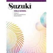 Suzuki Viola School, Vol 4 by Alfred Music