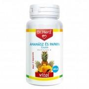 Dr. Herz Ananász-Papaya kapszula - 60 db