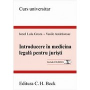 Introducere in medicina legala pentru juristi.