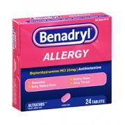 BENADRYL ALLERGY 24 UltraTab Tablets