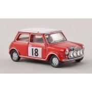 Mini Cooper S MKII, No.18, Rally Monte Carlo , 1968, Modelo de Auto, modello completo, Oxford 1:76