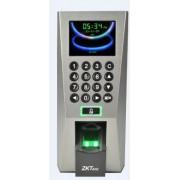 Control de acceso ZK TECO ZK F18 - Básico, biométrico, Si, 0 - 12 V