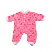 Baoblae Red Cute Doll Clothes Jumpsuit Pajamas Outfit for 18'' American Girl AG/My Life Doll Clothing Accessories